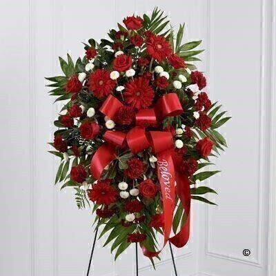 We have a large range of Service Arrangement Funeral Flower Tributes. We offer Flower Delivery Liverpool.  We can provide Service Arrangement Funeral Flowers for you in Liverpool - Merseyside and can organize Funeral flower deliveries for you Nationwide.  Your Service arrangement will be handmade - by our professional florists - and delivered to the Funeral Director or Private House if you prefer. Remember Booker Flowers and Gifts for Funeral Flowers delivered in Liverpool - Merseyside and beyond.