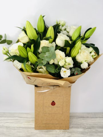 We sell a large range of Sympathy Flowers and Remember we offer Flower Delivery Liverpool and we can provide Sympathy Flowers for you in Liverpool - Merseyside and can organize Sympathy flower deliveries for you Nationwide. Your Sympathy Flowers will be handmade by our professional Florists and delivered by hand with a smile. Remember Booker Flowers and Gifts for Sympathy Flowers delivered in Liverpool - Merseyside and beyond. We offer Flower Delivery Liverpool and same day flower delivery and all our flowers hand arranged by our Florists are backed by our 7 day freshness guarantee